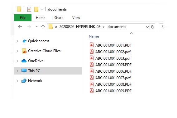 HyperlinQ - Native Export Windows Explorer